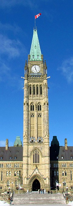 Photo Courtesy: https://en.wikipedia.org/wiki/Peace_Tower